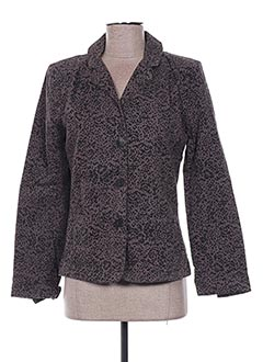 Veste chic / Blazer gris EMA TESSE pour femme