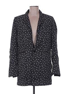 Veste chic / Blazer noir EMA TESSE pour femme