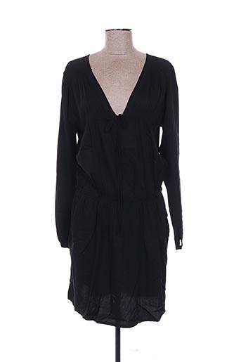 Robe courte noir EMA TESSE pour femme