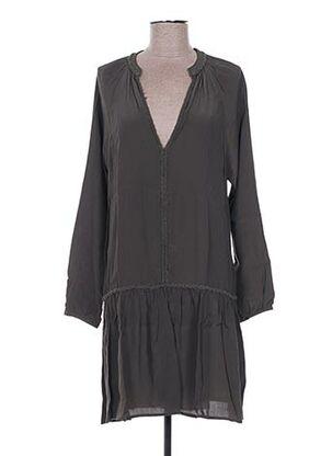 Robe courte vert EMA TESSE pour femme