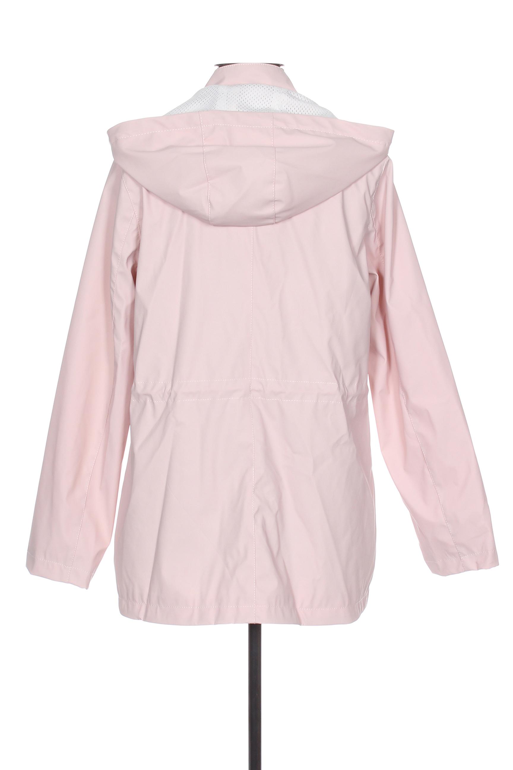 Escandelle Impermeables Trenchs Femme De Couleur Rose En Soldes Pas Cher 1363338-rose00