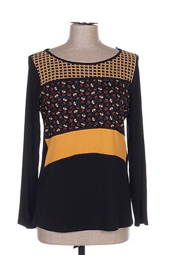 T-shirt manches longues noir AN II VITO pour femme