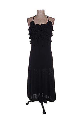 Robe pull noir ETINCELLE pour femme
