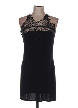 Robe courte noir ETINCELLE pour femme