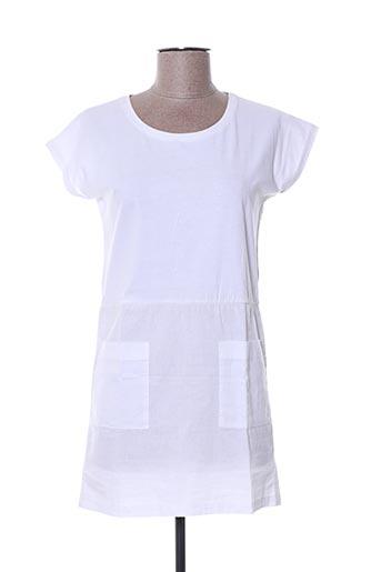Robe mi-longue blanc SWILDENS pour fille