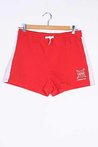 Short rouge DIVIDED H&M pour femme