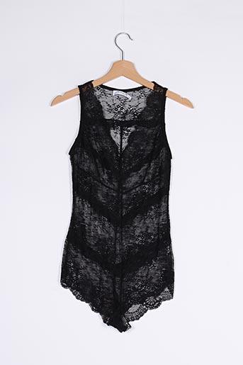 Body lingerie noir ALLYSON pour femme