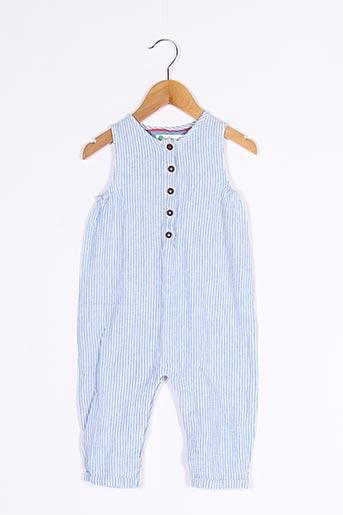 Combi-pantalon bleu BABY BODEN pour garçon