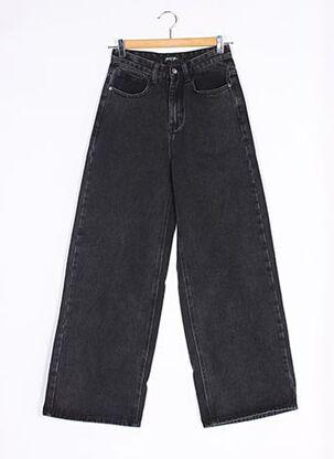 Jeans coupe large noir NASTY GAL pour femme