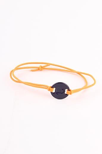 Bracelet orange ARISTOCRAZY pour femme