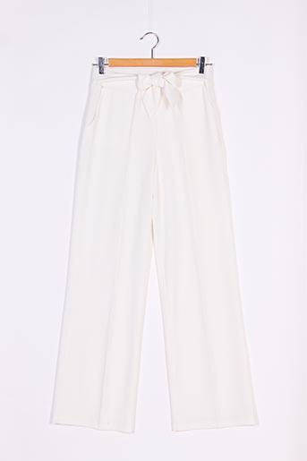 Pantalon casual blanc CACHE CACHE pour femme