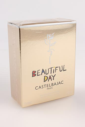 Parfum jaune CASTELBAJAC pour femme
