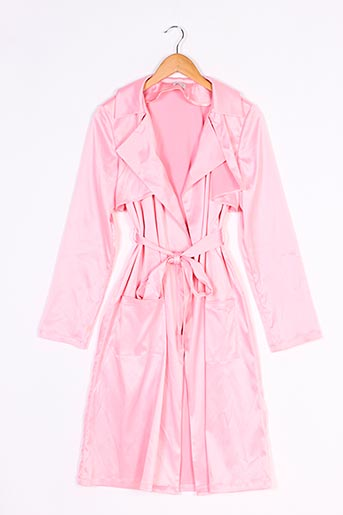 Imperméable/Trench rose CHEYMA pour femme
