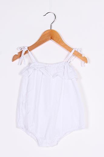 Body blanc BAKKER pour fille