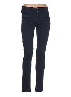 Pantalon casual bleu TIFFOSI pour femme