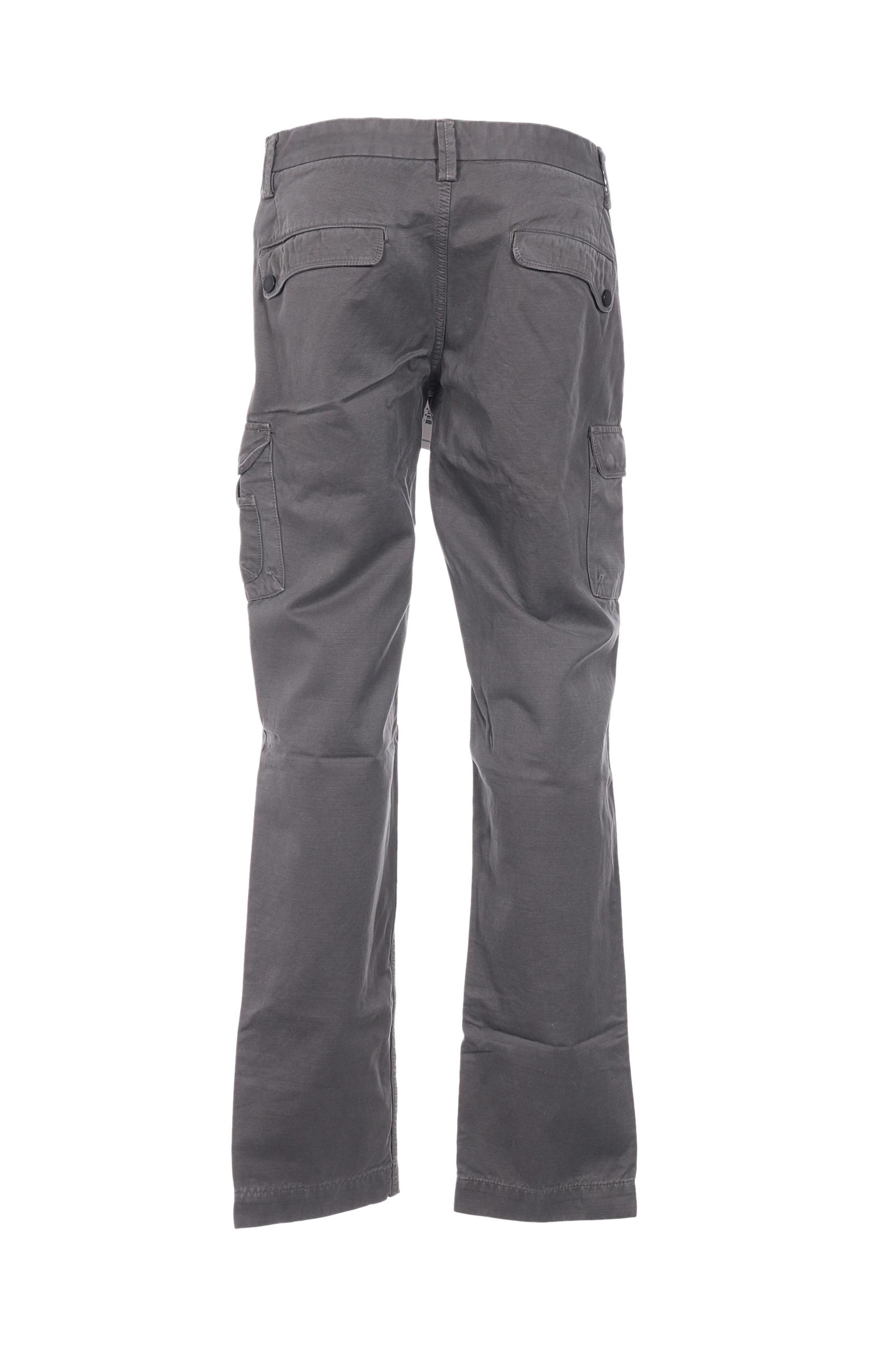 Aeronautica Pantalons Decontractes Homme De Couleur Gris En Soldes Pas Cher 1367373-gris00
