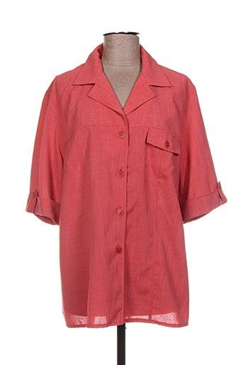 Veste chic / Blazer rouge BRANDTEX pour femme