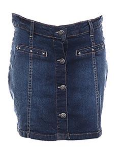 Jupe courte bleu LOSAN pour fille