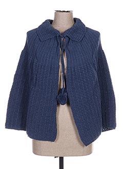 Robe de chambre bleu LAS CABRILLAS pour femme