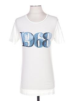 T-shirt manches courtes bleu ESPRIT pour homme
