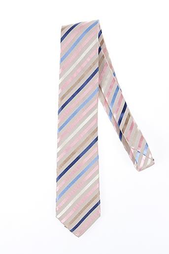 Cravate beige NODUS pour homme