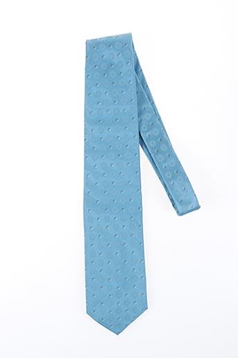 Cravate bleu DANIEL HECHTER pour homme