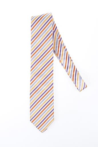 Cravate jaune NODUS pour homme