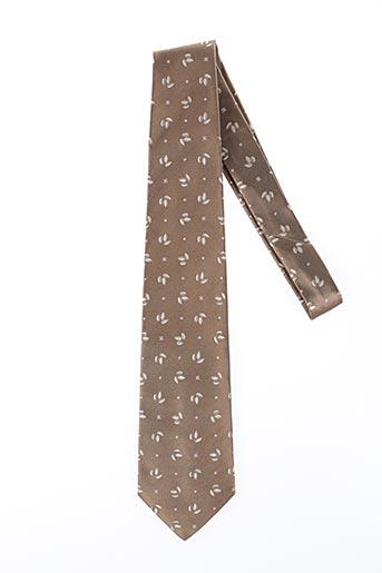 Cravate marron CELINE pour homme