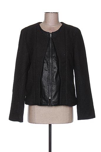Veste casual noir ANDY & LUCY pour femme