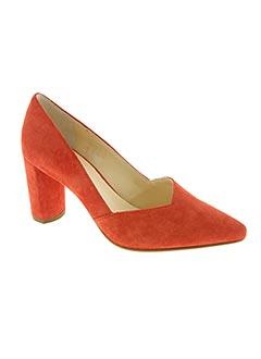 Escarpins rouge HOGL pour femme