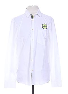 Chemise manches longues blanc GAASTRA pour homme