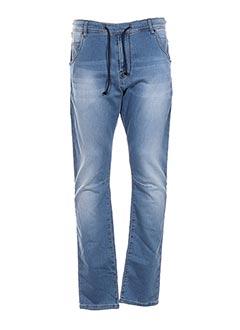 Pantalon casual bleu CHEFDEVILLE pour homme