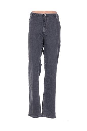 Pantalon casual gris CINTRE A CINTRE pour femme