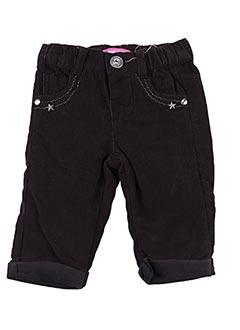 Pantalon casual marron PIK OUIC pour fille