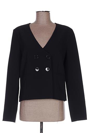 Veste casual noir HIPPOCAMPE pour femme