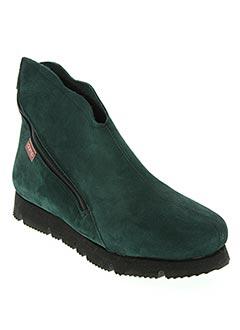 Bottines/Boots vert CLAMP pour femme