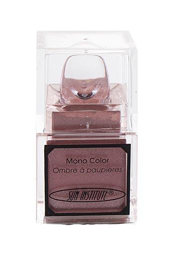 Maquillage rose SUN INSTITUTE pour femme