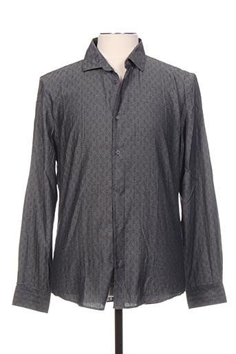 Chemise manches longues gris NO EXCESS pour homme