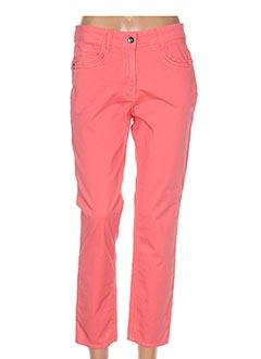 Pantalon casual orange DESAIVRE pour femme