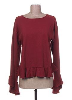 T-shirt manches longues rouge MINI MIGNON pour fille