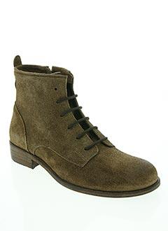 Bottines/Boots marron NIMAL pour fille