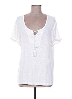 T-shirt manches courtes beige ESPRIT DE LA MER pour femme