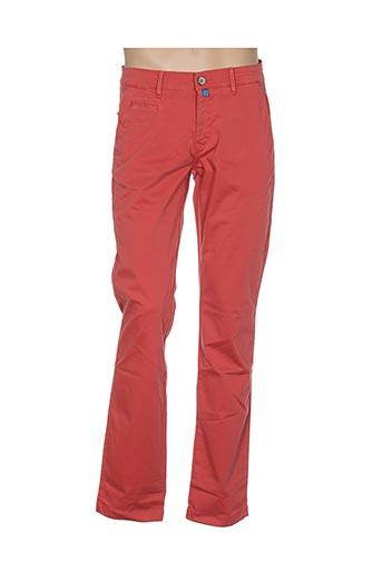 Pantalon casual orange PIERRE CARDIN pour homme
