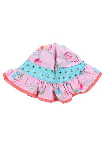 Chapeau rose KENZO pour fille