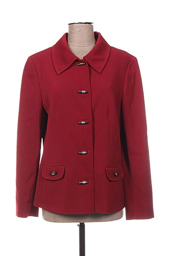 Veste casual rouge WEINBERG pour femme