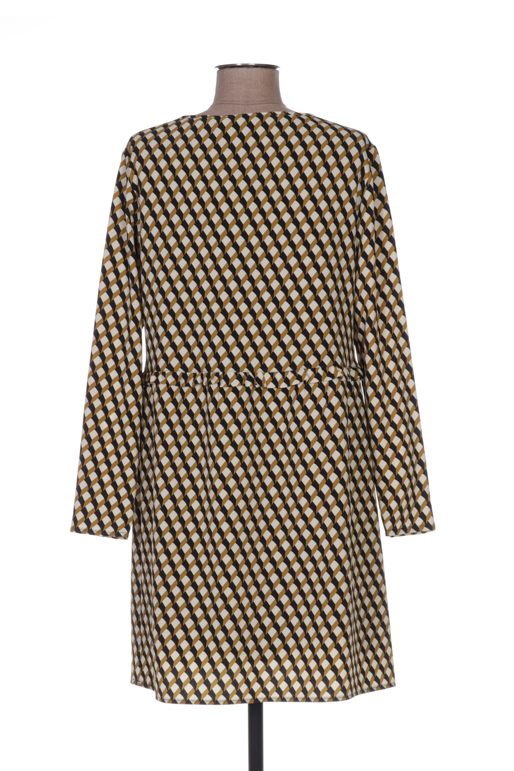 Poussiere D Etole Robes Courtes Femme De Couleur Jaune En Soldes Pas Cher 1369362-jaune0