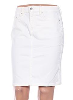 Jupe mi-longue blanc VILA pour femme