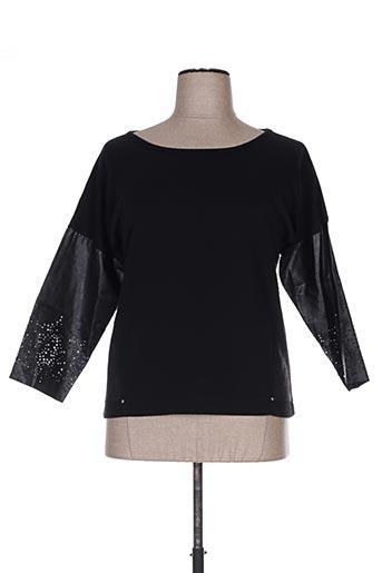 T-shirt manches longues noir FILIPINE LAHOYA pour femme