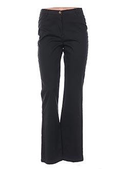 Pantalon casual orange BLEU DE SYM pour femme