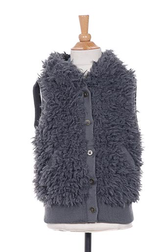 Veste casual gris BOBOLI pour fille